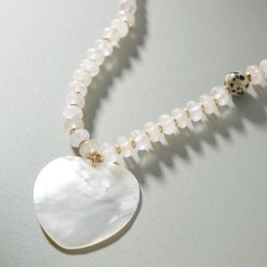 Anthropologie Shell Pendant Necklace